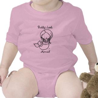 Daddy's Little Mermaid Tee Shirt