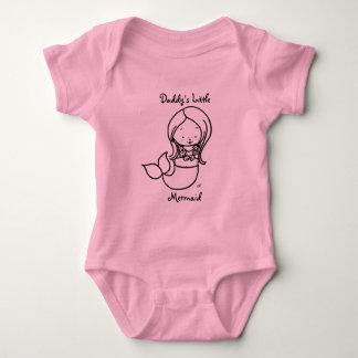 Daddy's Little Mermaid Tshirts