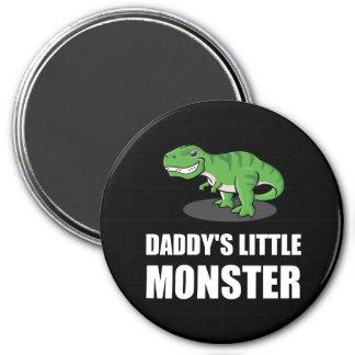 Daddys Little Monster 7.5 Cm Round Magnet