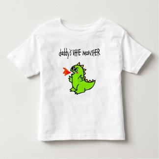 Daddy's Little Monster Toddler T-Shirt