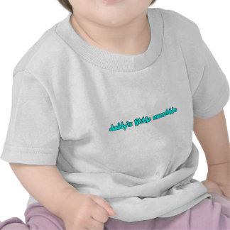 daddy's little munchkin t-shirt