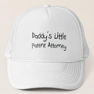 Daddy's Little Patent Attorney Trucker Hat