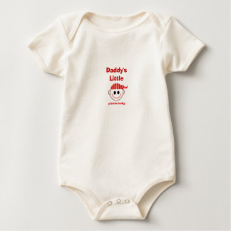 Daddy's Little Pirate Baby Baby Bodysuit