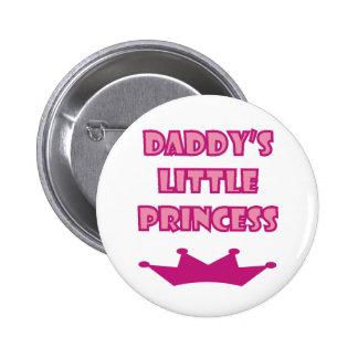 Daddy's Little Princess 6 Cm Round Badge
