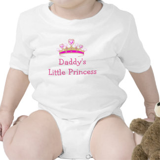 Daddy's Little Princess and Heart Crown Rompers