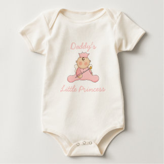 Daddy's  Little Princess Baby Baby Bodysuit