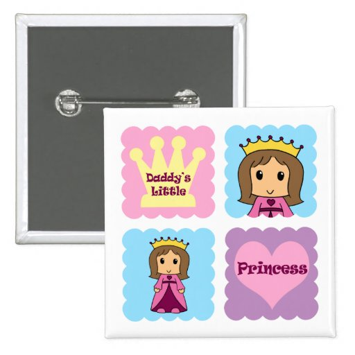 Daddy's Little Princess Buttons
