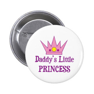 Daddys Little Princess Button