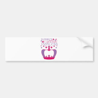 Daddys Little Princess Bumper Stickers