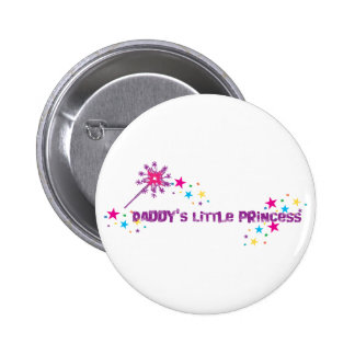 Daddy's Little Princess Button