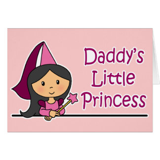 Daddy's Little Princess Greeting Cards