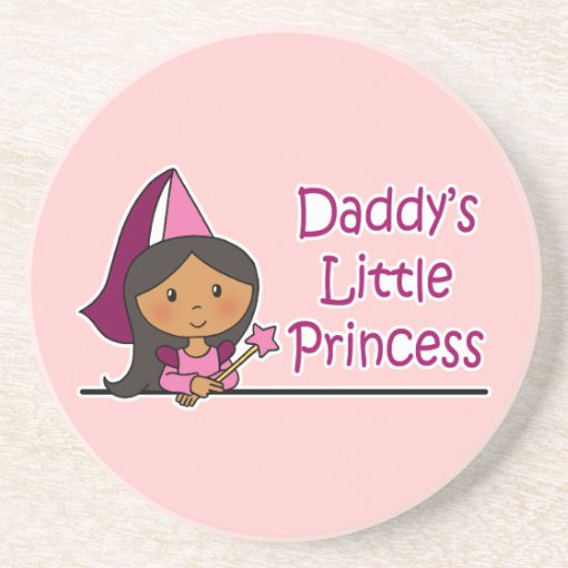 Daddy's Little Princess Beverage Coasters