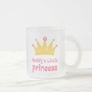 Daddy's Little Princess Crown Mugs