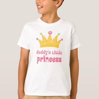 Daddy's Little Princess Crown T-Shirt