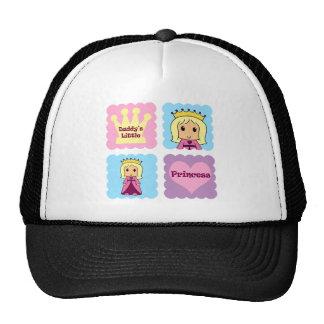 Daddy's Little Princess Trucker Hats
