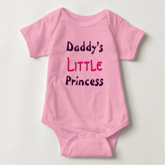 Daddy's Little Princess Infant Shirt