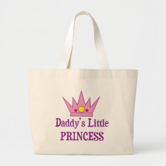 Daddys Little Princess Jumbo Tote Bag