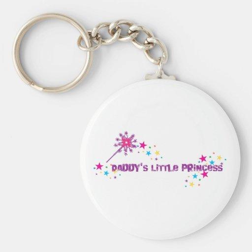 Daddy's Little Princess Keychain