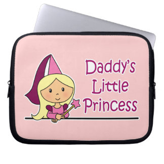Daddy's Little Princess Laptop Sleeves