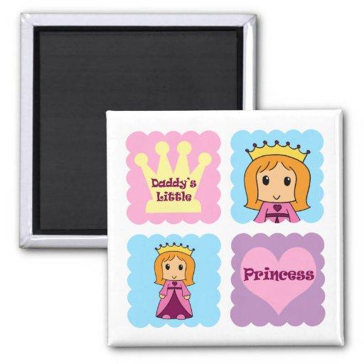 Daddy's Little Princess Refrigerator Magnet
