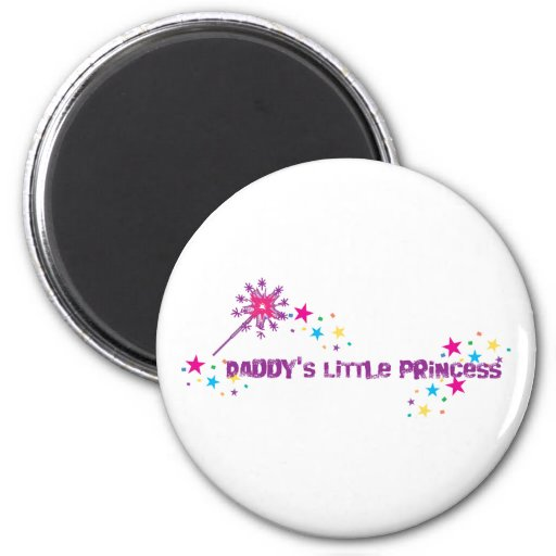 Daddy's Little Princess Magnet