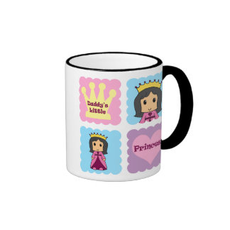 Daddy's Little Princess Coffee Mugs
