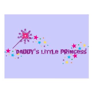 Daddy's Little Princess Postcard