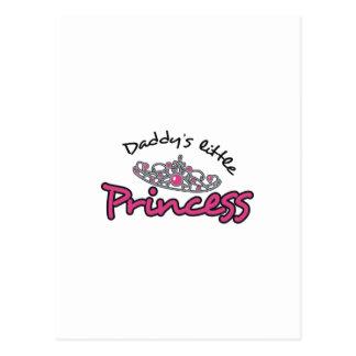 DADDYS LITTLE PRINCESS POSTCARD