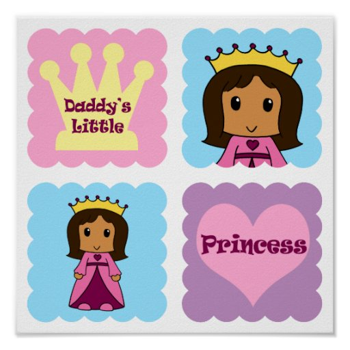 Daddy's Little Princess Poster