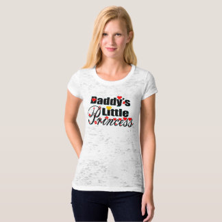 ❤✔Daddy's Little Princess Sexy Sheer Burnout T-Shirt
