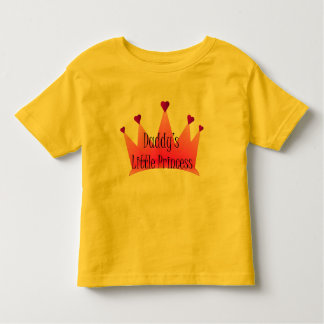 Daddy's Little Princess Toddler T-Shirt