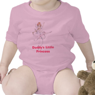 Daddy's Little Princess Baby Bodysuits