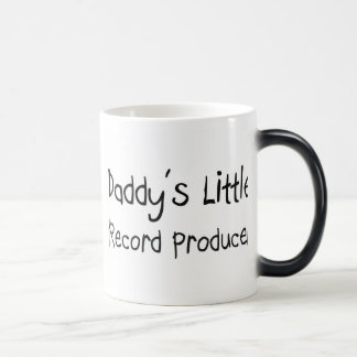 Daddy's Little Record Producer Coffee Mugs