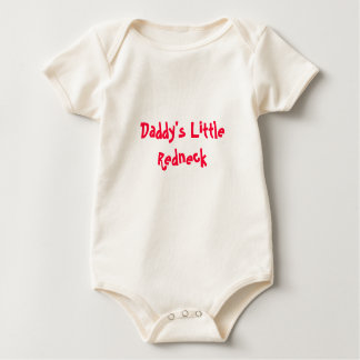 Daddy's Little Redneck Baby Bodysuit