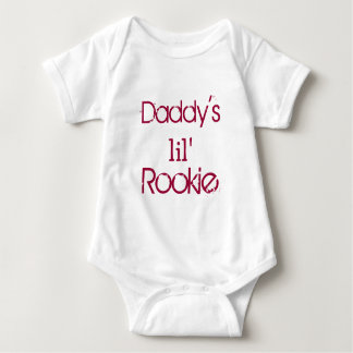 Daddy's Little Rookie T Shirts