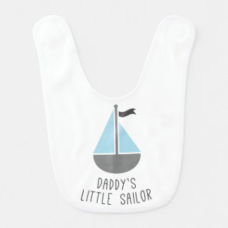 Daddy's Little Sailor Bib