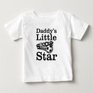 Daddy's Little Soccer Star Baby T-Shirt