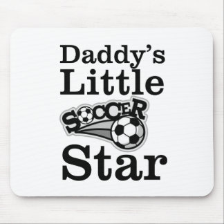 Daddy's Little Soccer Star Mouse Pad