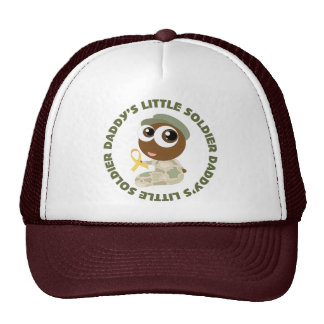 Daddys Little Soldier Ethnic Military Support Cap