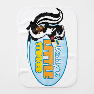 Daddy's Little Stinker Burp Cloth
