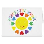 Daddy's Little Sunshine Cards