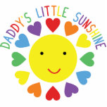 Daddy's Little Sunshine Photo Sculpture