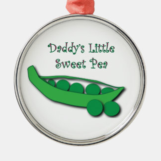 Daddy's Little Sweet Pea Ornament
