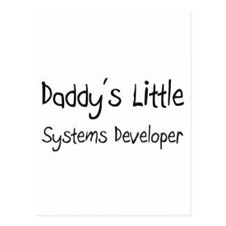 Daddy's Little Systems Developer Postcards