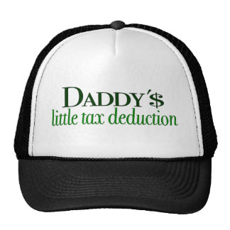 Daddy's little tax deduction cap