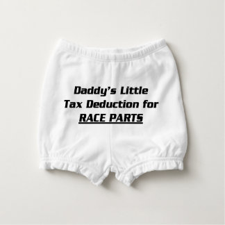 Daddy's Little Tax Deduction Nappy Cover