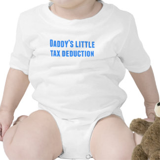 Daddy's Little Tax Deduction Baby Bodysuits
