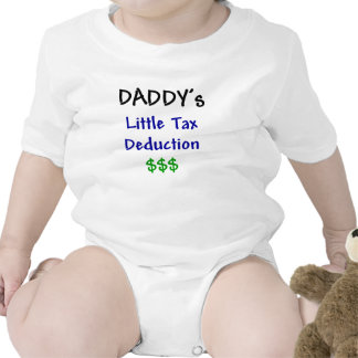 Daddys Little Tax Deduction T Shirts