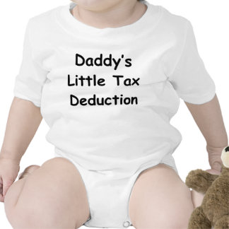 Daddy's Little Tax Deduction Bodysuits