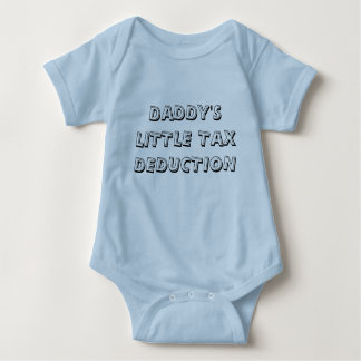 DADDY'S LITTLE TAX DEDUCTION TSHIRTS